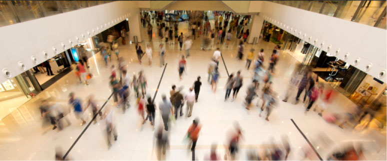Innovative People Counting Solutions for Malls